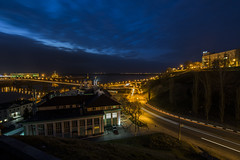 Нижний Новгород ночью (alexeybahmetyev) Tags: russia river bridge photo ponte nikon d3300 nice night notte city view vista citta
