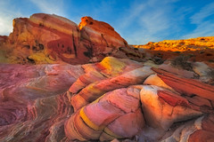 Candyland (Ania Tuzel Photography - Summer break) Tags: candyland nevada valleyoffire southwest ef1635mmf4l desert rock singhray eveninglight