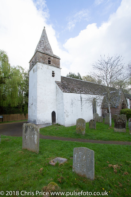 Dixton Church, Monmouthshire by the WYe