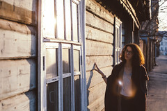 Sergiev Posad (d_downtown) Tags: film portrait girls girl glasses gold light sunlight sunny vsco windows curly jewish canon russia sergiev posad