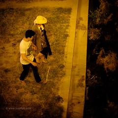 A lovers' leap, Malaga (2) (Scotty H..) Tags: andalucia andalusia city malaga rioguadalmedina spain dark night