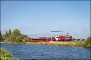 Captrain 1618 + BM73 73007, Halfweg