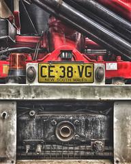 Nueva Gales del Sur Patente - Chapa - Plate