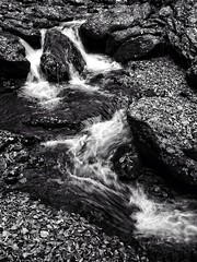 Smith Creek 2 (jhpen2) Tags: creek rapids water blackandwhite bw autumnfall bnw nature landscape
