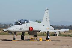 F-5 (23-25) (Fco Javier Chao) Tags: ae905 spanishairforce escueladecazayataque escueladereactores baseaéreadetalavera talavera ejércitodelaire f5 f5northop 2325