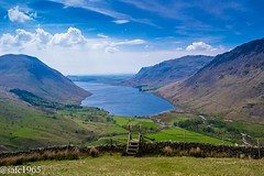 Wast Water from Lingmell , Lake District (safc1965) Tags: wast water lake district lingmell walking hiking landscape cumbria wasdale head