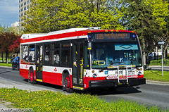 TTC #8620 - 185 Don Mills Rocket (TransitFan88) Tags: toronto transit commission ttc 2017 novabus nova bus lfs 40 foot 12 metre lf low floor 8620 route 185 don mills rocket overlea boulevard blvd thorncliffe park drive east york brand new ontario canada public flexity livery