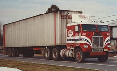 """Freightliner Cabover, """"Great Coastal"""" #405 (PAcarhauler) Tags: freightliner coe cabover semi truck tractor trailer"""