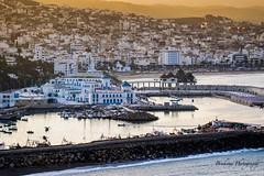 Le petit port de M'diq - Morocco (Bouhsina Photography) Tags: mdiq tétouan maroc méditerrannée port pêche plaisance coucher soleil cité montagne eau bouhsina bouhsinaphotography canon 7dii ef100mm