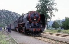 56140  Kizoglu  09.06.92 (w. + h. brutzer) Tags: kizoglu 56 eisenbahn eisenbahnen train trains türkei dampfloks steam railway lokomotive zug turkey tcdd dampflok webru analog nikon
