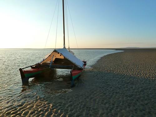 Evening tide flooding