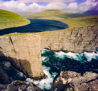 Sørvágsvatn cliffs - Faroe Islands