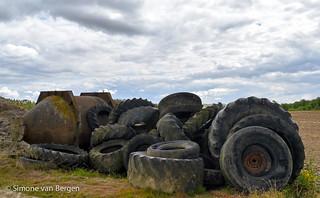 Pile of Farm Junk