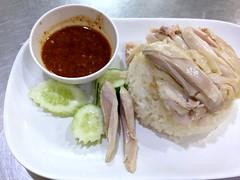 khao man kai from Kin Heng in Bangkok (Fuyuhiko) Tags: khao man kai from kin heng bangkok カオマンカイ チキン ライス タイ料理 シーロム通り バンコク タイ thailand