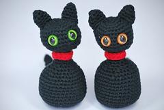 Gato amigurumi (La Borda del Crochet) Tags: amigurumi dropssafran crochet lanasdrops algodón