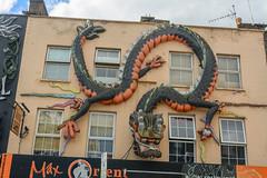 Camden Highstreet 2 (stevefge) Tags: camden london buildings art shop striking street uk reflectyourworld windows dragon