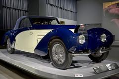 1939 Bugatti Type 57C Aravis - Jean Bugatti's Favorite (Pat Durkin OC) Tags: 1939bugatti type57c aravis cabriolet b ue white thepetersen