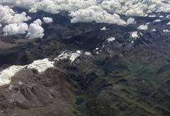 Huanuco, Perú (GaboUruguay) Tags: landscapes airplane window mountains andes chile plane avion aircraft view landscape montaña nieve snow copa nube cloud
