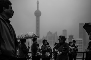 Bad weather in Shanghai