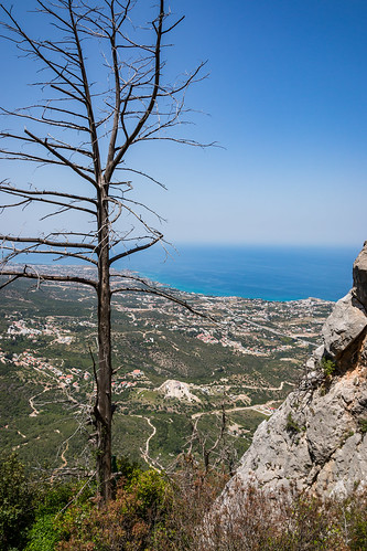 St. Hilarion castle, Kyrenia (Girne) Mountains , North Cyprus