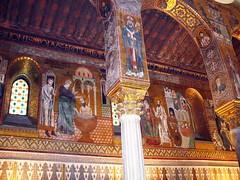 IMG_1004 - Cappella Palatina - il battesimo (molovate) Tags: chiesa cappella tafme palazzodeinormanni palazzoreale palermo cataldo volate sancataldo particolare