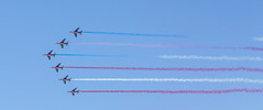 Patrouille de France Old Glory (4myrrh1) Tags: patrouilledefrance french military flying flight flightdemonstrationsquadron flightdemonstrationteam 2017 al alabama maxwell afb aircraft airplane aviation airshow airplanes airport airforce canon 6d ef70300l oldglory american flag americanflag