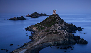 Blue hour at Les sanguinaires - Corsica