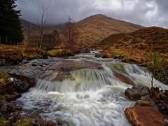 Waterfall On the road to Skye (martin_swatton) Tags: watwrfall scotland highlands moody mountain olympus omd em1 mzuiko 1240 28 pro polariser