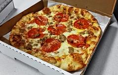 56 Kitchen Spesso Pizza (cassaendra) Tags: 56kitchen solon pizza restaurant lunch spesso housemade sausage pepperoni cheese