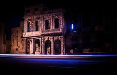 Along the Malecon - Havana (IV2K) Tags: havana habana lahabana cuba cuban kuba malecon habanavieja centrohavana centrohabana lighttrails longexposure sony rx1 sonyrx1 caribbean zeiss carlzeiss 35mm fidel castro fidelcastro