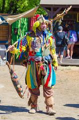 Jester (Kevin MG) Tags: renaissancefaire renaissance renfaire faire fair irwindale event jester costume man