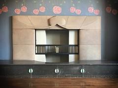 Deco Fireplace (amfawcett) Tags: fireplace crmackintosh bellahouston glasgow deco artdeco mackintosh houseforanartlover 1920s