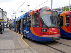Sheffield Supertram 119 (Boothby97) Tags: sheffieldsupertram stagecoach siemensduewag tram 750vdcelectric 750vdc sheffield yorkshire castlesquare supertram119 yellowline