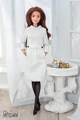 Barbie (elenpriv) Tags: barbie doll elenpriv elena peredreeva fashionroyalty handmade outfit mattel diorama dolls dress made move yoga