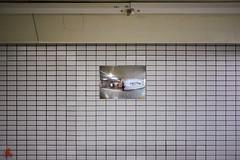 Distorted Reflections (gullevek) Tags: building chuouku fujixt1 fujifilm fujinonxf35mmf2rwr ginza jp japan mirror things tokyo tokyoto wall 中央区 壁 建物 日本 東京 東京都 物 銀座 鏡 chūōku tōkyōto