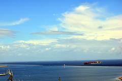 DSC_1411-61 (jjldickinson) Tags: nikond3300 106d3300 sanpedro losangeles sky cloud lookoutpointpark ocean water portoflosangeles harbor shippingcontainer container ship containership nikon55200mmf456gedifafsdxvrnikkor promaster52mmdigitalhdprotectionfilter