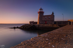 Howth 08May2017 1-2 (Helen Mulvey) Tags: howth dublin ireland sunset sun sea coast tide water longexposure tripod landscape outdoor seascape sky beam nikon d5100 lighthouse