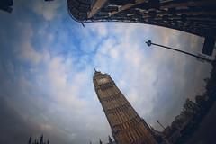 Elizabeth Tower (www.javierayala-photography.com) Tags: london londres england bigben elizabethtower uk unitedkingdom sunset fisheye canon icon landmark monument clock tower westminster