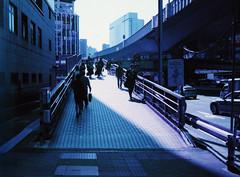 (daveknapik) Tags: 東京 日本 渋谷 tokyo japan shibuya lomo lomography 35mm lomochromepurple film canonetgiiiql17 canonet