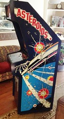 A new addition to my vintage collectibles - 1979 Asteroids Arcade Game. (bslook1213) Tags: asteroids arcade game 1970s 1980s vintage antique old relics google bing yahoo atari