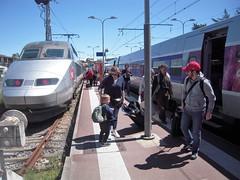 GARE D'ARCACHON (marsupilami92) Tags: frankreich france sudouest nouvelleaquitaine 33 gironde aquitaine bassindarcachon tourisme arcachon gare tgvatlantique train tgv sncf