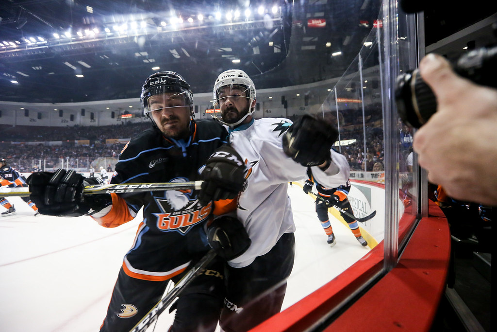 San Diego Gulls Vs. San Jose Barracuda 05.12.17