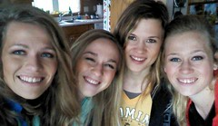 Sisters (The Kingery Family) Tags: kingery family bluegrass baseball music singing happy smiles sisters together