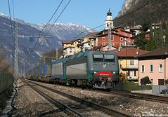LK WALTER Train (Massimo Minervini) Tags: e405 e405031 mir mercitalia e412 doppiatrazione cargo cassemobili lkwalter brennerbahn brenner serravallealladige trentino fs lineadelbrennero lineabrenneroverona tec canon400d train