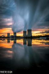 Centrale nucléaire de Cattenom (Photo.Vision) Tags: cattenom water sky canon eos 70d 1635 f28 28 centrale nucléaire lorraine moselle thionville luxembourg 2025 clouds