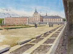 Aranjuez (P.Barahona) Tags: palacio aranjuez pleinair fabriano
