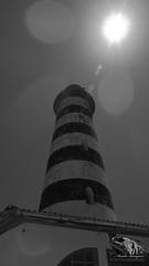 FAROL#PONTA#NUARRO#NACALA#NAMPULA#MOZAMBIQUE (paulomarquesfotografia) Tags: farol preto branco bw black and white sol sun ceu sky lighthouse hx400v sony