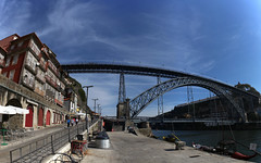 IMG_1889_stitch (AndyMc87) Tags: porto douro river fluss stream portugal bridge stitch panorama architecture ship house old sky blue clouds port canon eos 6d 2470 l ponte luis