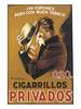 Cigarillos PRIVADOS (OldAdMan) Tags: oldadman oldadvertisements oldposters cigarillosprivados mauzan