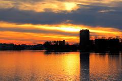 Spaarne (++Rob++) Tags: haarlem spaarne zonsondergang sunset